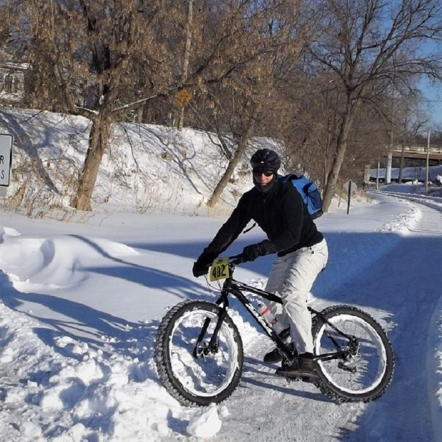 This Bike Pic Thursday, it's time to get excited with more snow in the forcast this weekend and Global Fat Tire Day, this Saturday, December 1st. Stop by your local shop and see what they have going or look here for events in the upper Midwest.