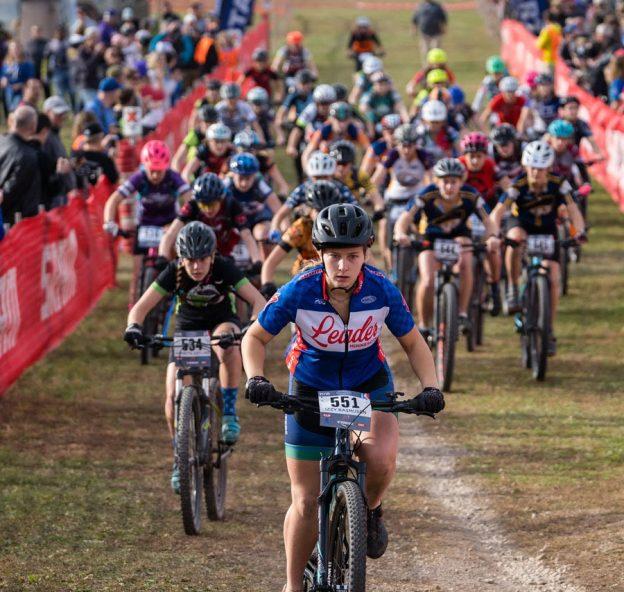 Cycling League JV2 Girls | Izzy Rasmusen #551, Alexandria Area | Mt. Kato 2018