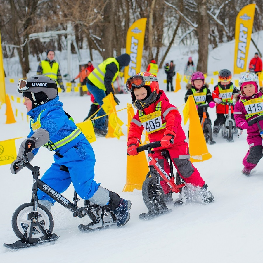 """The Strider Snow Cup has been dubbed the""""Toddler Tour de France,"""" and will be held at Buck Hill,in Burnsville, MN on March 2nd."""