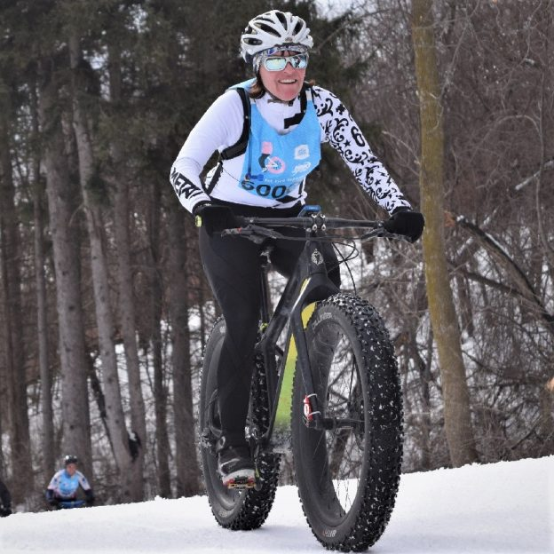 This Bike Pic Friday, we are celebrating the first full week of winter where we caught this biker chick out having fun in Minnesota's bold north.