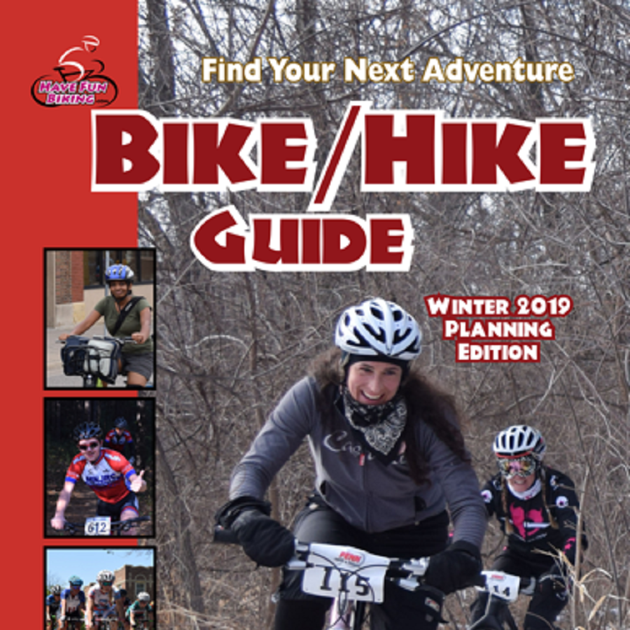 Enjoy paging through the 2019 Bike/Hike Winter Planning Guide for more fun rides and events. Working on the annual spring editions, coming in April, we uncovered many events for this winter e-guide. Enjoy exploring maps locations in Iowa, Minnesota, and Wisconsin!