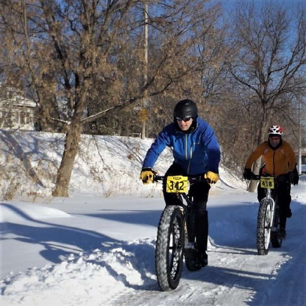 If you are not out in playing in the snow this New Year's Day, enjoy paging through the 2019 Bike/Hike Winter Planning Guide for fun places to ride.