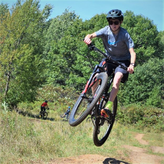 Remember, take a chance! If life were a mountain bike trail and Wheelie Wednesday helped smooth out your day-to-day ride or aided you in dropping into your sweet spot