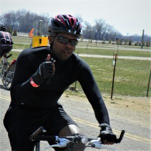 This Bike Pic Saturday, with warmer weather continuing, we caught this biker dude out having fun on his road bike near Bloomington, MN.