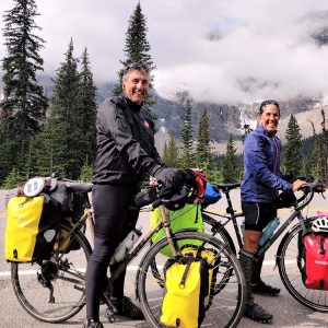 Beginning from their hometown, #crazyparentsonbikes rode fromGreat Falls, Montana andpedaled to Edmonton for their annual unsupported bike trip.