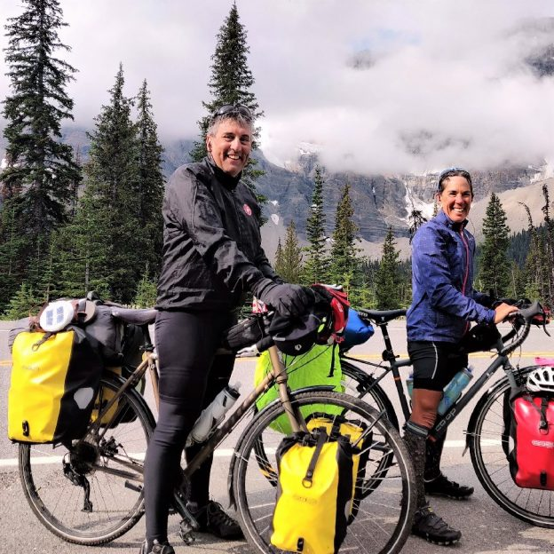 Beginning from their hometown, #crazyparentsonbikes rode from Great Falls, Montana and pedaled to Edmonton for their annual unsupported bike trip.