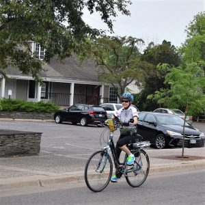 An electric bike is perfect for commuting to work.