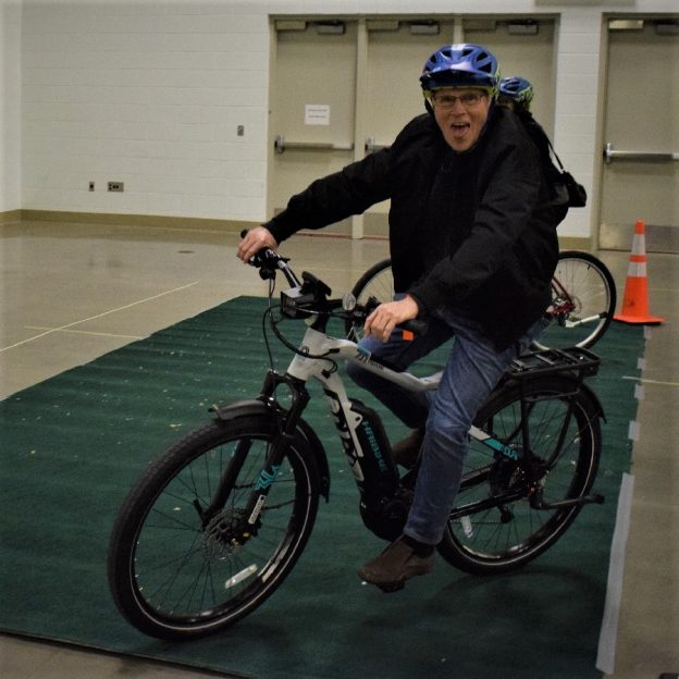 This Bike Pic Thursday we wanted to show you some of the fun attendees had at the E-bike Challenge Minneapolis checking out the latest in electric bikes.