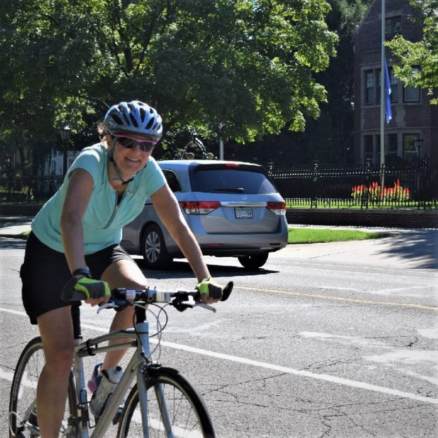 This Bike Pic Wednesday, with temps in the sixties, give your bicycle the old Air, Brake, and Crank check, so you are ready for 30-days of biking.