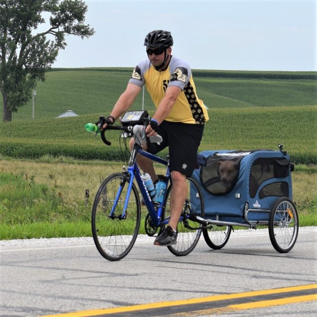 This Bike Pic Thursday, as the spring temps continue to warm things up, celebrate day-25 of 30-days of biking, by taking your faithful friend with.