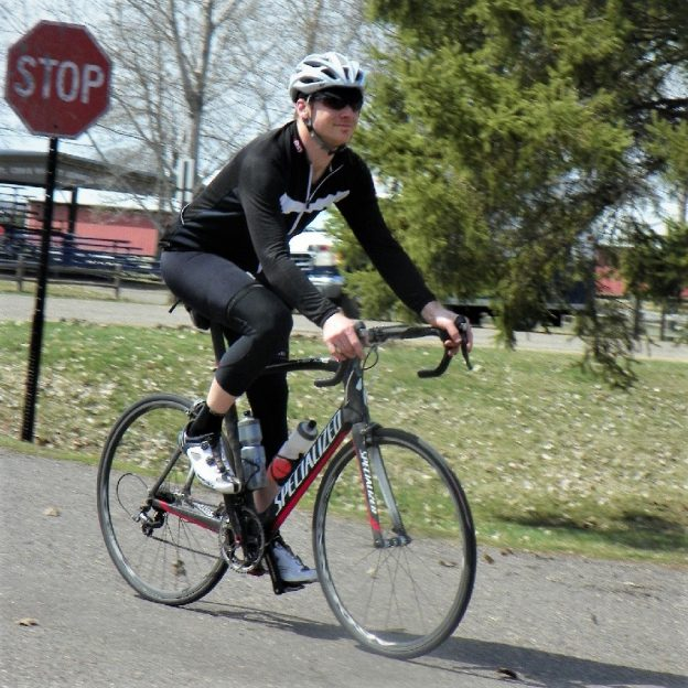 This Bike Pic Tuesday, as the spring temps hit the mid-60's, celebrate day-16 of 30-days of biking, keeping up with your personal commitment.