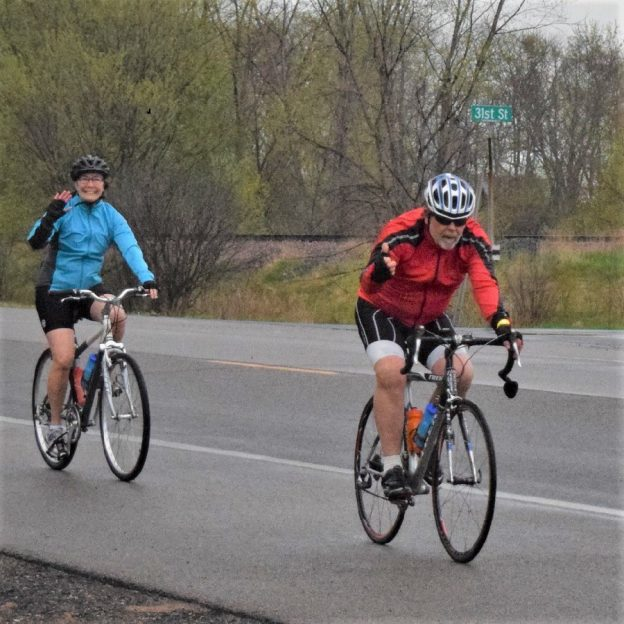 This Bike Pic Friday, we captured this biker couple riding out by Stillwater, MN, and looking forward to warmer weather in the coming days!