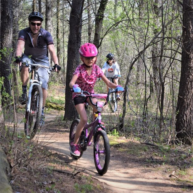 This Bike Pic Thursday, its a perfect day to get out on the trail, hopefully with family or friends like these mountain bikers.