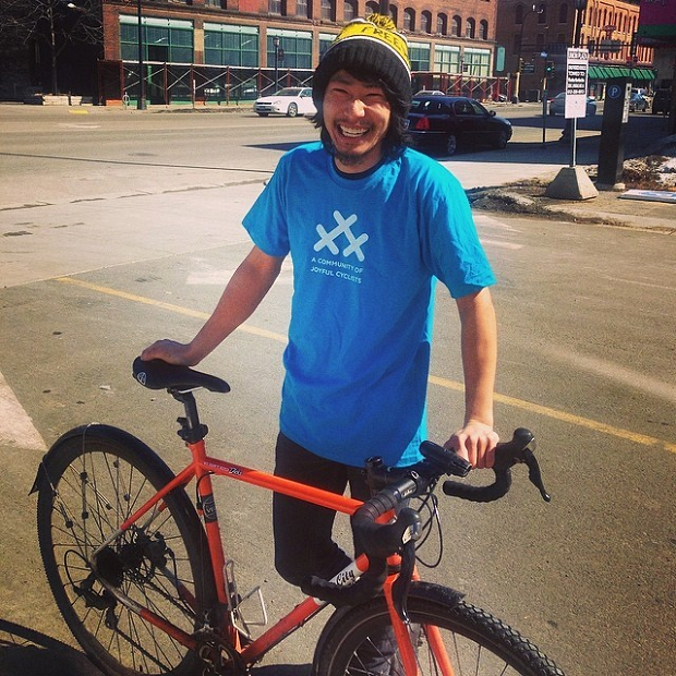 Join 30 Days of Biking through April, wearing this tee-shirt and feeling good about yourself.
