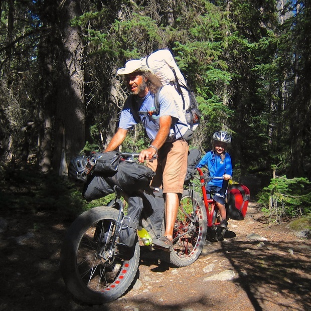 Bike Pic Dec. 29, try bike camping with your kids in 2016!