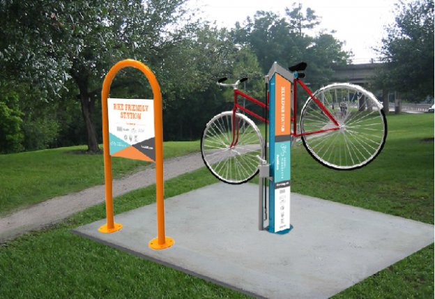 Bike Repair Station On The Root River Trail Soon