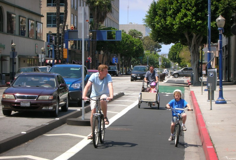 Cycle Track Approved In Bike Friendly Richfield