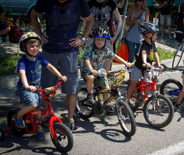 Kid's Race at last years Southside Sprint and family event.