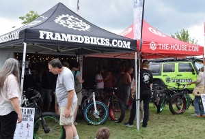The House Outdoor Gear was at the MN Fair showcasing a wide assortment of fat tire and road bikes along with some great deals on accessories.