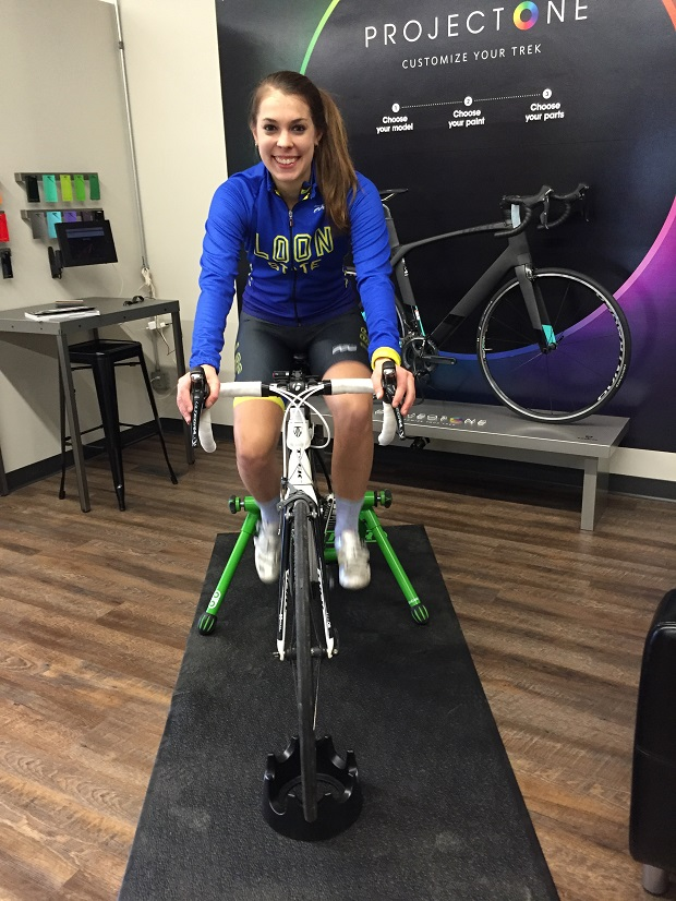 Signing up for a weekly SMART Trainer series at a local bike shop will ensure that you not only maintain your baseline, but also improve your confidence level.
