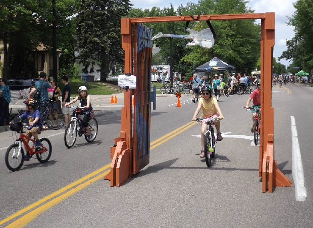 Open Streets in Minneapolis on June 7th