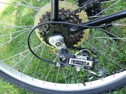 Keep your derailleurs clean for smooth shifting.