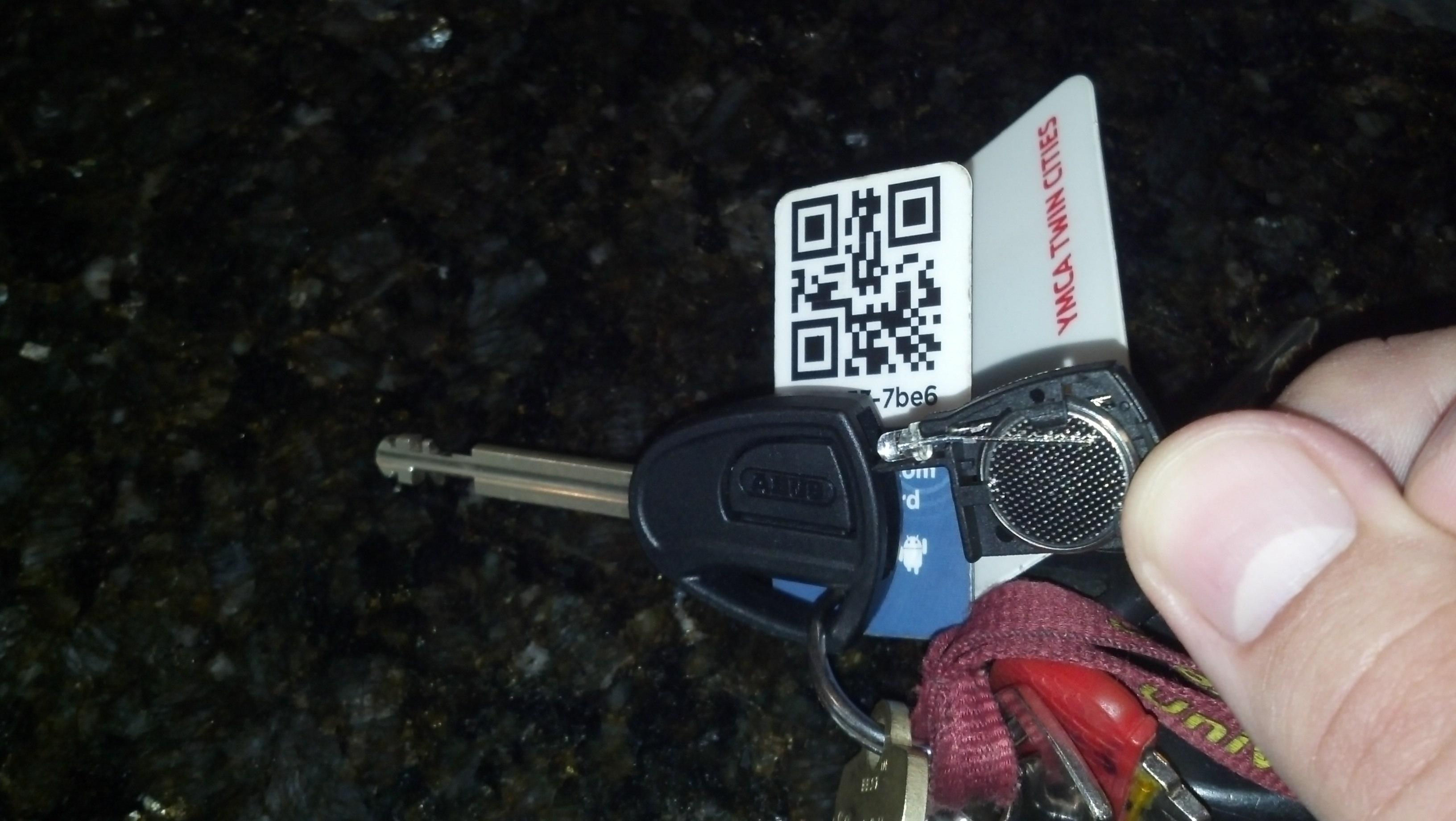 ABUS U lock key