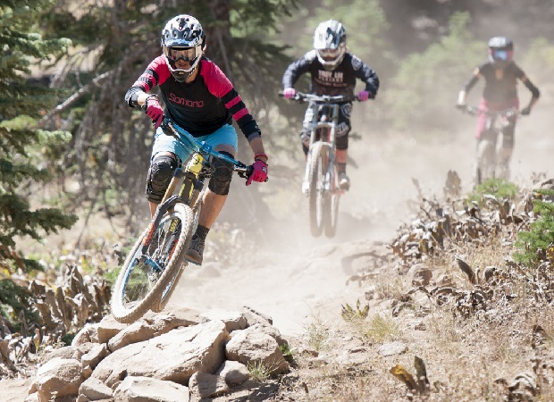 Film follows three powerful, graceful and fashionable high performance female downhill mountain bikers, Kat Sweet, McKenna Merten and Inga Beck, shredding the trails. Ernest Rodriguez Photography