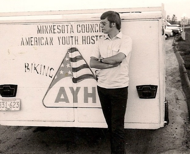 The Minnesota AYH trailer out supporting events around the state.