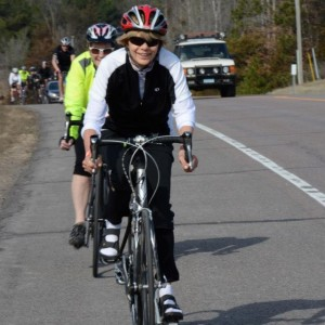 In 76 days this cyclist will be on her bike enjoying the first ride of the season, the 50th Anniversary on the Minnesota Ironman Bicycle Ride, in Stillwater.