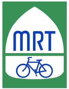 Signs for the Mississippi River Trail route