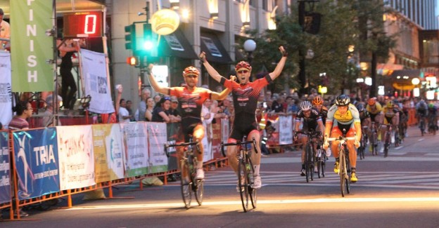Bicycle Racing at the 2014 North Star Criterium in St. Paul. photo Stephanie Williams