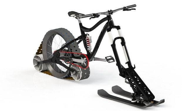 More Authentic Snow Bike May Be In The Future