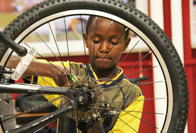 Wheel truing is a great way to take care of your bike while making it easier to ride. When you start adjusting your wheels, it's important to know where to start.