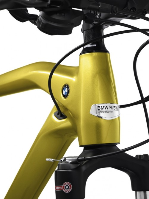 Each of the 500 Cruise M-Bike Limited Editions comes with a specially made plaque and a certificate