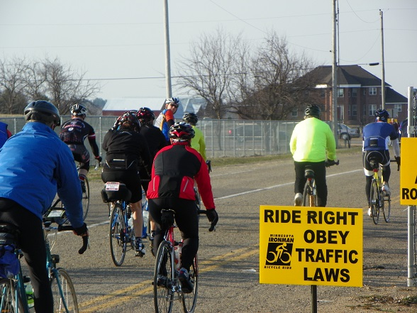 Riders will find routes marked and signed for everyone's safety