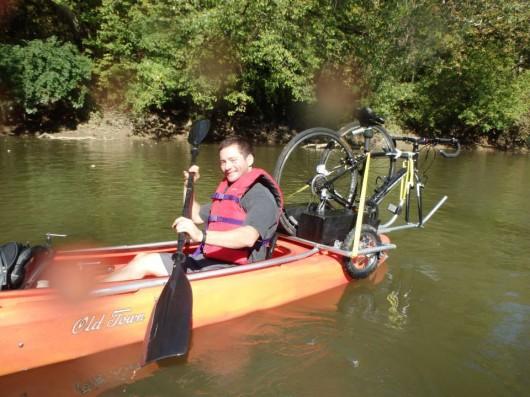 Kayak Bike Trailer